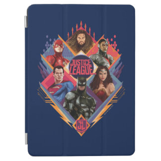 Justice League | Diamond Hatch Group Badge iPad Air Cover