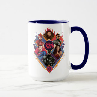 Justice League | Diamond Hatch Group Badge Mug