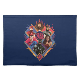 Justice League | Diamond Hatch Group Badge Placemat