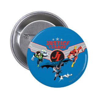 Justice League Flying Air Badge and Heroes Pins
