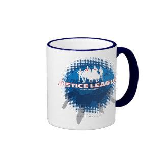 Justice League Global Defenders Ringer Coffee Mug