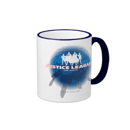Justice League Global Defenders Coffee Mug