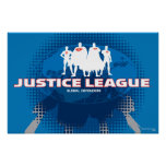 Justice League Global Defenders Poster