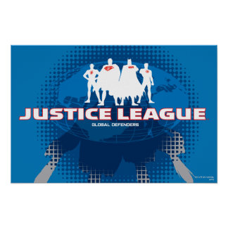 Justice League Global Defenders Poster