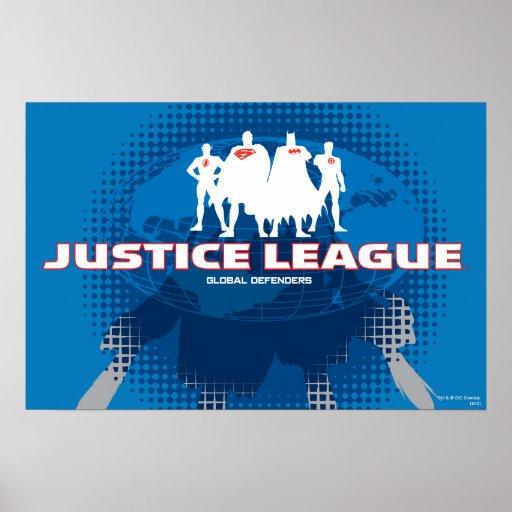 Justice League Global Defenders Print