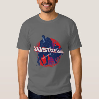 Justice League Global Heroes  and Globe Tshirts