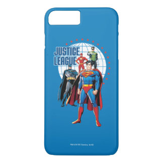 Justice League Global Heroes iPhone 8 Plus/7 Plus Case