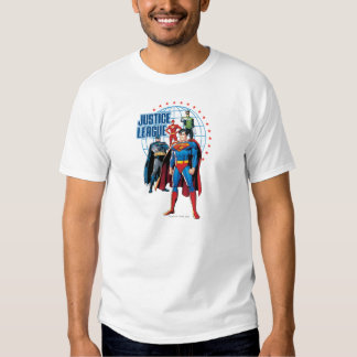 Justice League Global Heroes Tee Shirts