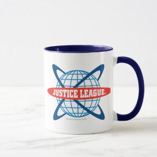 Justice League Globe Logo Mug