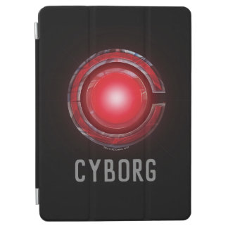Justice League | Glowing Cyborg Symbol iPad Air Cover
