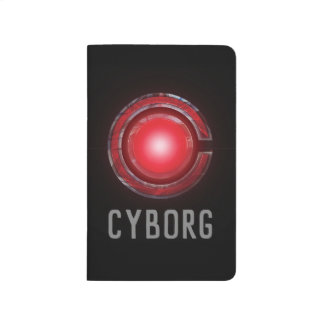 Justice League | Glowing Cyborg Symbol Journal
