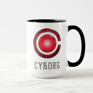 Justice League | Glowing Cyborg Symbol Mug