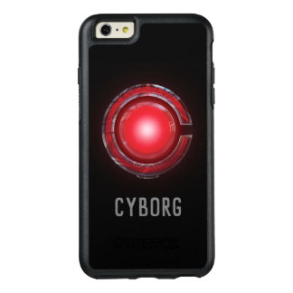 Justice League | Glowing Cyborg Symbol OtterBox iPhone 6/6s Plus Case
