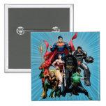 Justice League - Group 2 15 Cm Square Badge