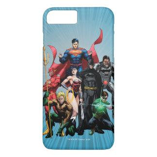 Justice League - Group 2 iPhone 8 Plus/7 Plus Case
