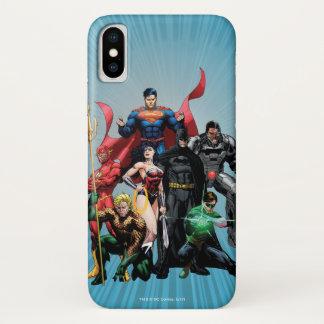 Justice League - Group 2 iPhone X Case