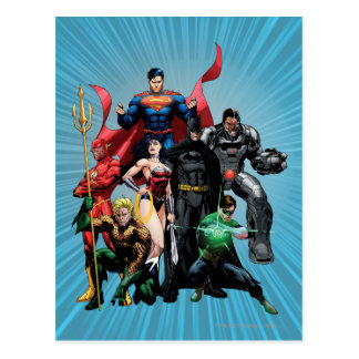 Justice League - Group 2 Postcard