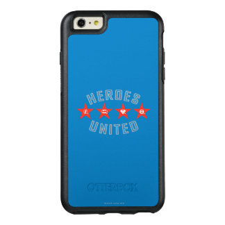 Justice League Heroes Untied Logos OtterBox iPhone 6/6s Plus Case