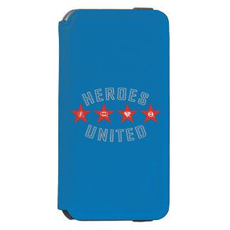 Justice League Heroes Untied Logos Incipio Watson™ iPhone 6 Wallet Case