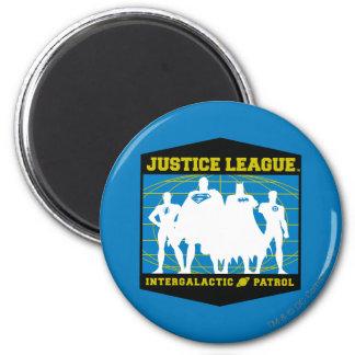 Justice League Intergalactic Patrol 6 Cm Round Magnet