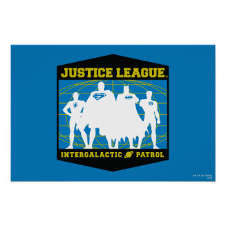 Justice League Intergalactic Patrol Poster