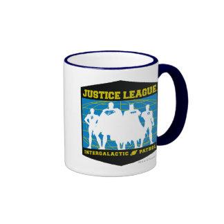 Justice League Intergalactic Patrol Ringer Mug