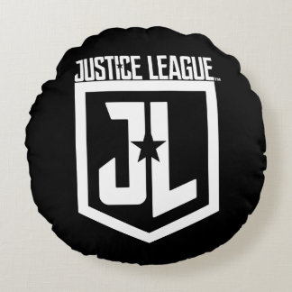 Justice League | JL Shield Round Cushion