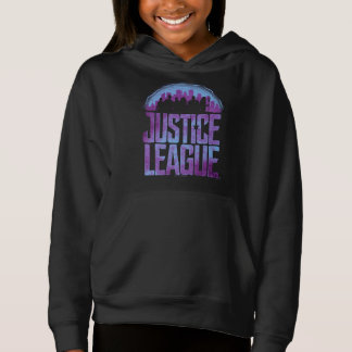 Justice League   Justice League City Silhouette