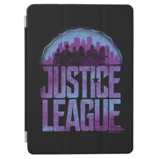 Justice League | Justice League City Silhouette iPad Air Cover