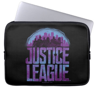 Justice League | Justice League City Silhouette Laptop Sleeve