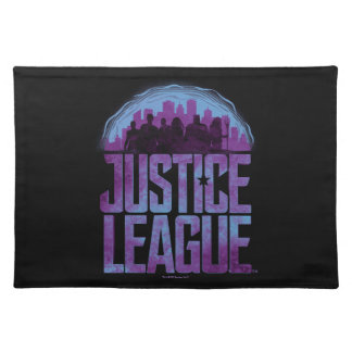 Justice League | Justice League City Silhouette Placemat