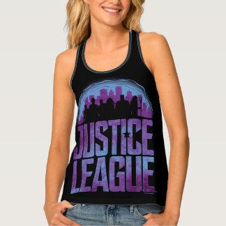 Justice League   Justice League City Silhouette Singlet
