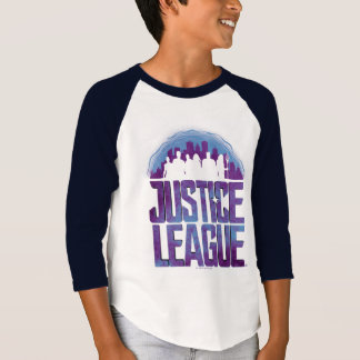 Justice League | Justice League City Silhouette T-Shirt