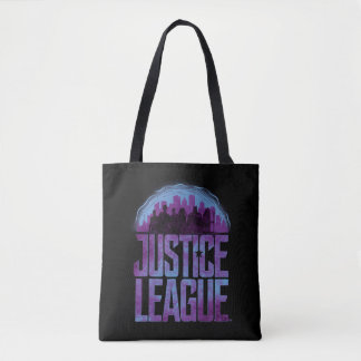 Justice League | Justice League City Silhouette Tote Bag