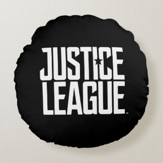 Justice League | Justice League Logo Round Cushion