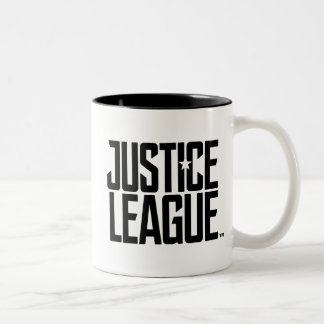 Justice League | Justice League Logo Two-Tone Coffee Mug