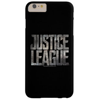 Justice League | Justice League Metallic Logo Barely There iPhone 6 Plus Case