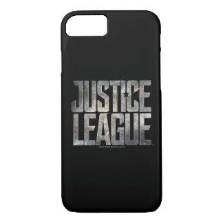 Justice League | Justice League Metallic Logo iPhone 8/7 Case