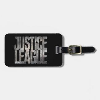 Justice League | Justice League Metallic Logo Luggage Tag
