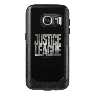 Justice League | Justice League Metallic Logo OtterBox Samsung Galaxy S7 Case