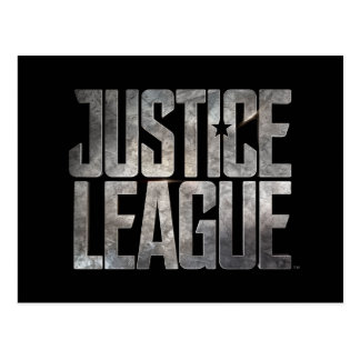 Justice League | Justice League Metallic Logo Postcard