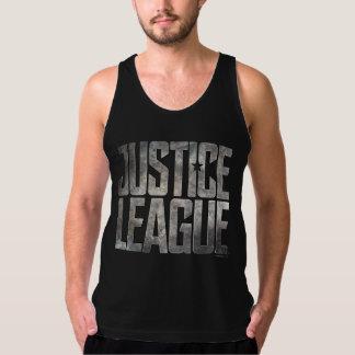 Justice League   Justice League Metallic Logo Singlet