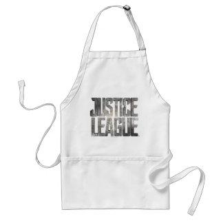 Justice League   Justice League Metallic Logo Standard Apron