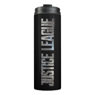 Justice League | Justice League Metallic Logo Thermal Tumbler