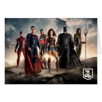 Justice League | Justice League On Battlefield Card