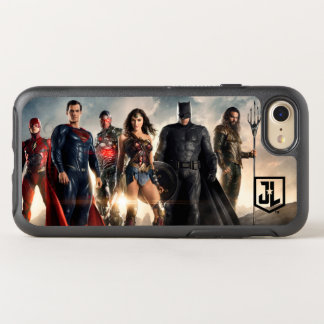 Justice League | Justice League On Battlefield OtterBox Symmetry iPhone 8/7 Case