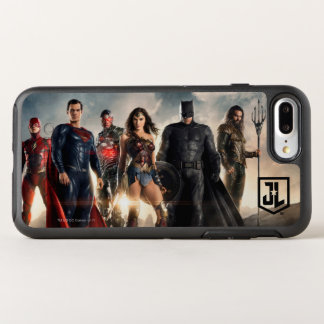 Justice League | Justice League On Battlefield OtterBox Symmetry iPhone 8 Plus/7 Plus Case