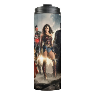 Justice League | Justice League On Battlefield Thermal Tumbler