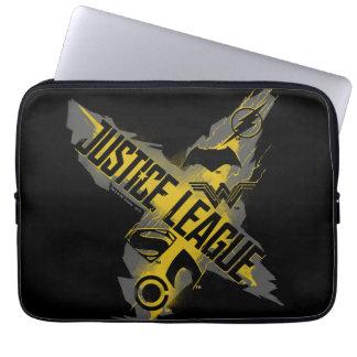 Justice League | Justice League & Team Symbols Laptop Sleeve