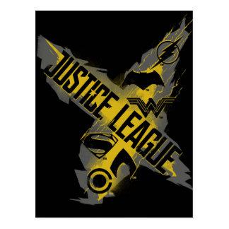Justice League | Justice League & Team Symbols Postcard